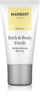 Marbert Bath & Body Fresh desodorante roll-on para mujer 50 ml