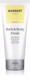 Marbert Bath & Body Fresh lotion corps pour femme 200 ml