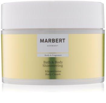 Marbert Bath & Body Shimmering creme corporal
