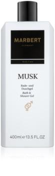 Marbert Bath & Body Musk gel de ducha y baño