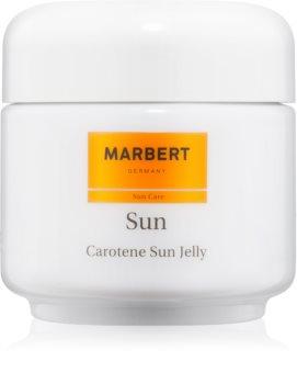 Marbert Sun Carotene Sun Jelly gel bronzeador para rosto e corpo SPF 6