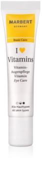 Marbert Basic Care I ♥ Vitamins tratamiento contorno de ojos