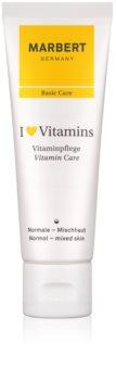 Marbert Basic Care I ♥ Vitamins ošetrujúci krém pre normálnu až zmiešanú pleť