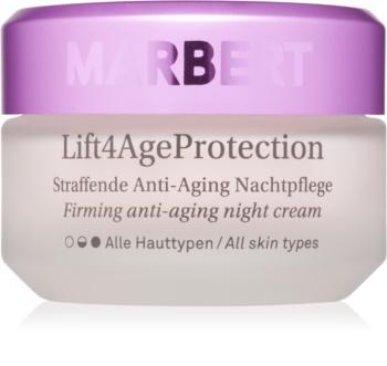 Marbert Anti-Aging Care Lift4AgeProtection zpevňující noční krém proti vráskám