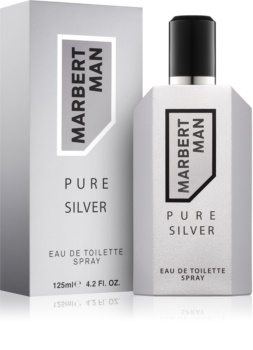 Marbert Man Pure Silver woda toaletowa dla mężczyzn 125 ml