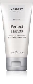 Marbert Hand Care Perfect Hands crema nutritiva  para manos