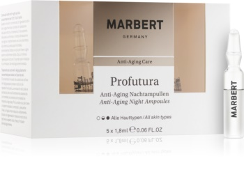 Marbert Anti-Aging Care Profutura noční ampule proti stárnutí pleti