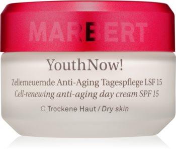 Marbert Anti-Aging Care YouthNow! Anti-Falten-Tagescreme für die Hautzellenerneuerung LSF 15
