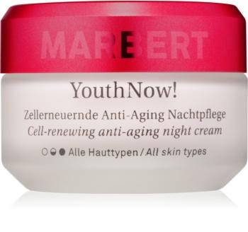 Marbert Anti-Aging Care YouthNow! protivráskový nočný krém pre obnovu pleťových buniek