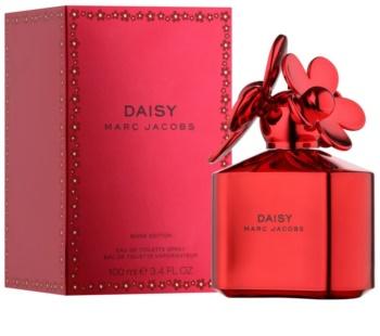 Marc Jacobs Daisy Shine Red Edition eau de toilette nőknek 100 ml