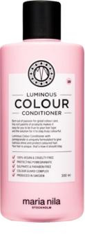 Maria Nila Luminous Colour rozjasňujúci a posilňujúci kondicionér pre farbené vlasy bez sulfátov a parabénov