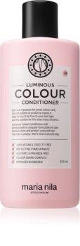Maria Nila Luminous Colour rozjasňující a posilující kondicionér pro barvené vlasy bez sulfátů a parabenů