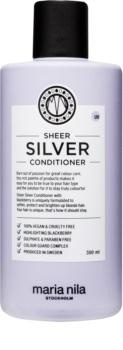 Maria Nila Sheer Silver hydratačný kondicionér neutralizujúci žlté tóny bez sulfátov a parabénov