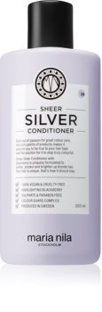 Maria Nila Sheer Silver hydratační kondicionér neutralizující žluté tóny
