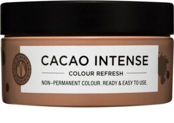 Maria Nila Colour Refresh Cacao Intense jemná vyživující maska bez permanentních barevných pigmentů