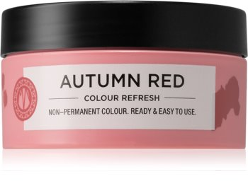 Maria Nila Colour Refresh Autumn Red jemná vyživující maska bez permanentních barevných pigmentů
