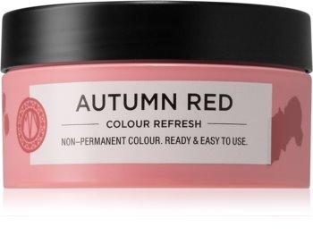 Maria Nila Colour Refresh Autumn Red Sanfte nährende Maske ohne permanente Farbpigmente