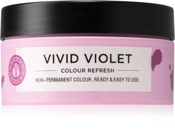 Maria Nila Colour Refresh Vivid Violet jemná vyživující maska bez permanentních barevných pigmentů
