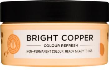 Maria Nila Colour Refresh Bright Copper jemná vyživujúca maska bez permanentných farebných pigmentov