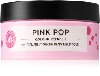 Maria Nila Colour Refresh Pink Pop jemná vyživujúca maska bez permanentných farebných pigmentov