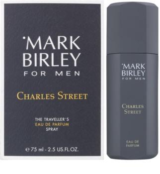 Mark Birley Charles Street Eau de Parfum para homens 75 ml formato de viagem