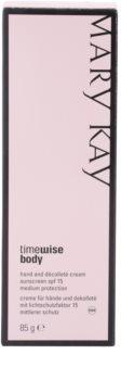 Mary Kay TimeWise Body crema protectora contra problemas de pigmentación