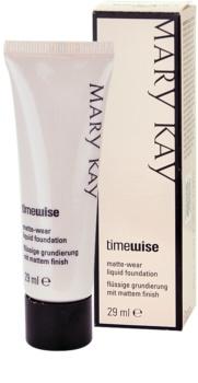 Mary Kay TimeWise Matte-Wear ματ μεικ απ για μικτή και λιπαρή επιδερμίδα