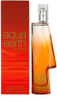 Masaki Matsushima Aqua Earth Homme toaletna voda za moške 80 ml