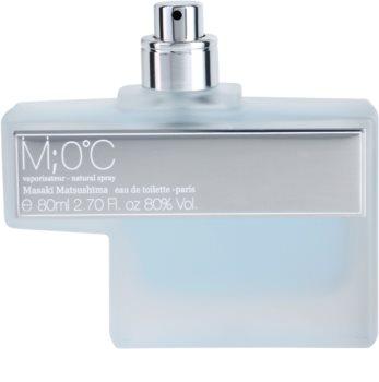 Masaki Matsushima M 0°C Men toaletní voda tester pro muže 80 ml