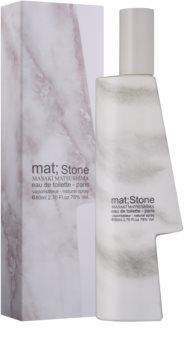 Masaki Matsushima Mat; Stone Eau de Toilette für Herren 80 ml