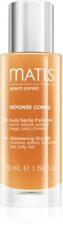 MATIS Paris Réponse Corps суха олійка з блискітками для обличчя, тіла та волосся