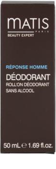 MATIS Paris Réponse Homme Deodorant roll-on pentru toate tipurile de ten, inclusiv piele sensibila