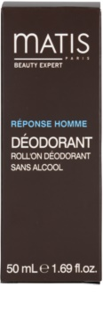 MATIS Paris Réponse Homme roll-on dezodor minden bőrtípusra, beleértve az érzékeny bőrt is