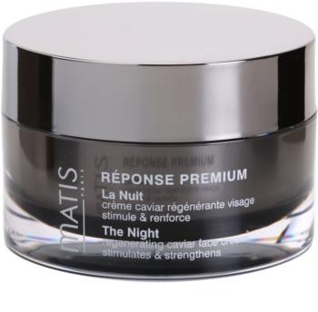 MATIS Paris Réponse Premium Regenerating Night Cream To Deal With Stress