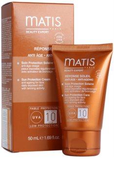 MATIS Paris Réponse Soleil crema contur pentru bronzat SPF 10