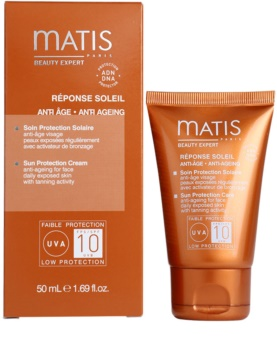 MATIS Paris Réponse Soleil Antifalten Sonnencreme LSF 10