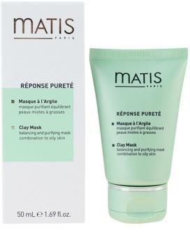 MATIS Paris Réponse Pureté Reinigungsmaske für fettige Haut