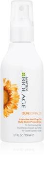 Matrix Biolage Sunsorials védő olaj nap által károsult haj