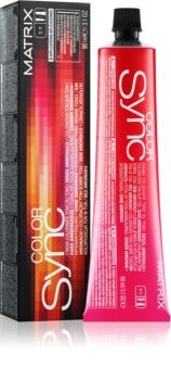 Matrix Sync coloração de cabelo sem amoníaco
