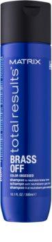 Matrix Total Results Brass Off šampon za nevtralizacijo rumenih tonov