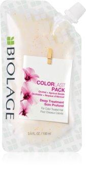 Matrix Biolage Color Last Deep Treatments Hydrasource Pack mélyen tisztító maszk festett hajra