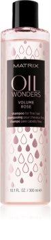 Matrix Oil Wonders Volume Rose Shampoo  voor Fijn Haar