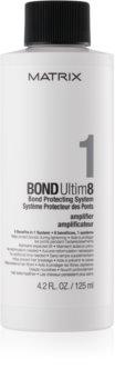 Matrix Bond Ultim8 sérum capillaire à ajouter à la coloration des cheveux technologie anti-cassure