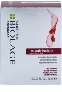 Matrix Biolage Advanced Repair Inside процедура за третиране на увредена коса