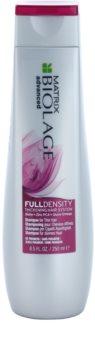 Matrix Biolage Advanced Fulldensity shampoo per aumentare il diametro del capello effetto immediato