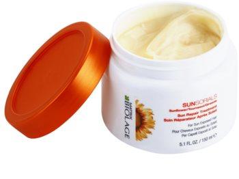 Matrix Biolage Sunsorials máscara para cabelo danificado pelo sol