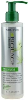 Matrix Biolage Advanced Fiberstrong cuidado cremoso sem enxaguar  para cabelo fraco e cansado