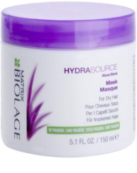 Matrix Biolage Hydra Source mascarilla para cabello seco