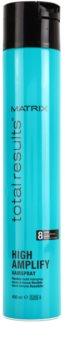 Matrix Total Results High Amplify лак для волосся для пружної фіксації