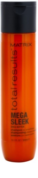 Matrix Total Results Mega Sleek šampón pre nepoddajné a krepovité vlasy
